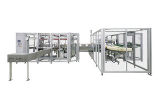 OPTIMA shows new packaging machine for baby diapers at CIDPEX 2019