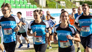 Record: Over 80 participants in the 4th AOK company run