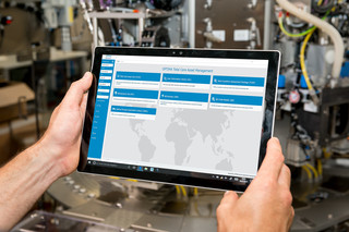Smart Services von Optima: Das TCAM Portal.
