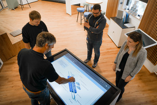 Touchscreen in the Digital Innovation Center