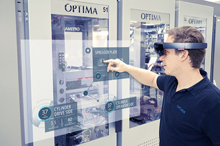 Mixed reality for smart machine operation